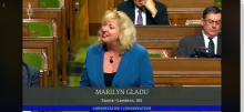 MP Marilyn Gladu recognizes February 14th as CHD Awareness Day in Statement in House of Commons
