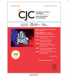 ACHD focus in December edition of Canadian Journal of Cardiology